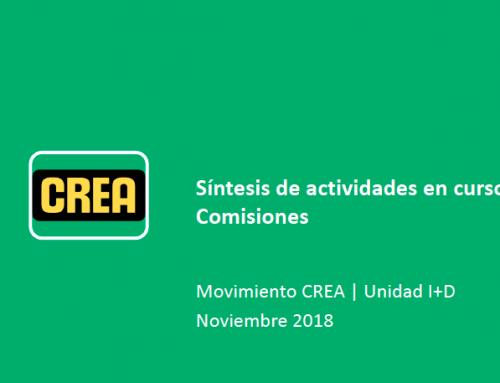 Síntesis de actividades en curso de las comisiones – NOV