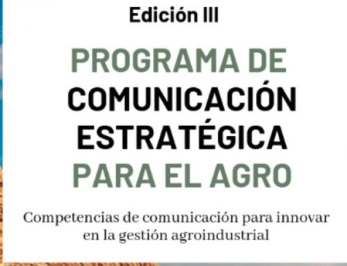 Programa de comunicación estratégica para el Agro
