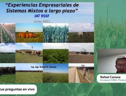 JAT GANADERA – Experiencias empresariales de sistemas mixtos a largo plazo (Rafael Canosa)