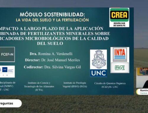 JAT MÓDULO SOSTENIBILIDAD – Aumento de la vida en el suelo y fertilización (Romina Verdenelli)