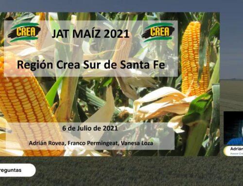 JAT MÓDULO MAÍZ – Aprendizajes campaña 2020/21, proyección 2021/22 (Adrián Rovea)